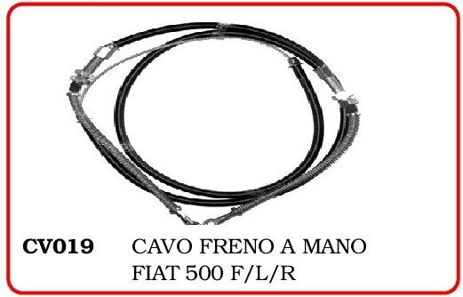 CAVO FRENO A MANO FIAT 500 R